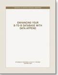 Enhancing Your B-to-B Database with Data Append