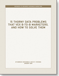 15 Thorny Data Problems