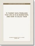 15 Thorny Data Problems