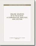 Online Sources of B-to-B Data