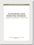 Outsourcing Your Marketing Database