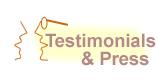 Testimonials & Press